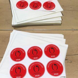 RENTREE LITTERAIRE 2020 - Dernier accessoire de cette collection dautomne, les stickers  #...