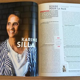 lire ce mois-ci dans @lafringaleculturelle : deux grandes interviews de Karine Silla et de Maud...