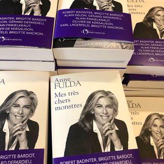 Mes tres chers monstres, dAnne Fulda : le livre sera en librairie la semaine prochaine, le 21...