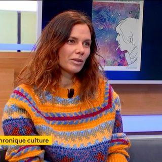 - Sigolne Vinson tait sur le plateau de Franceinfo pour la chronique culture de Youssef...