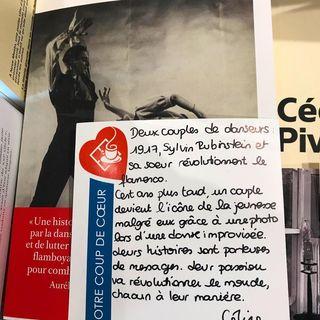 LE SAMEDI C'EST LIBRAIRIE   Deux couples de danseurs : 1917, Sylvin Rubinstein et sa sur...