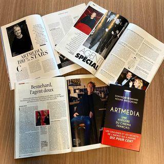 - Avalanche de presse cette fin de semaine pour Dominique Besnehard et Nedjma van Egmond,  l...