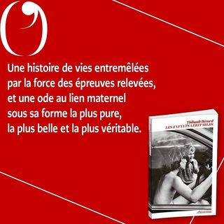 """PARUTION   Aujourd'hui en librairie, """"Les Enfants Veritables"""", de Thibault Berard.  Cleo est..."""