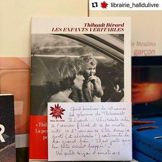 LE SAMEDI C'EST LIBRAIRIE    Quel bonheur de retrouver la plume de Thibault Brard......