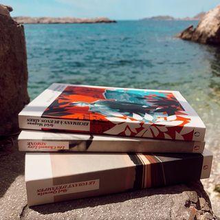 En attendant leur sortie en librairie le 18 aot, nos livres de la rentre prennent le soleil !...