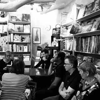 Christian Guay-Poliquin est de retour en France pour le @festivalamerica ! Ce soir  la librairie L...