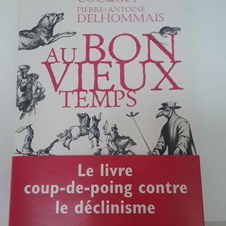 PARUTION   Aujourdhui en librairie,  Au bon vieux temps  de Marion Cocquet et Pierre-Antoine...