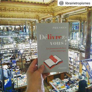 """Merci  la @librairietropismes pour ce jolie coup de coeur sur """"Dlivrez-vous"""" de Paul Vacca !  #..."""