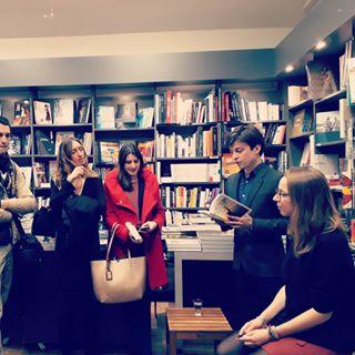 La soire de lancement du deuxime roman d'Anas LLobet  @larbrealettres Bastille, c'est...