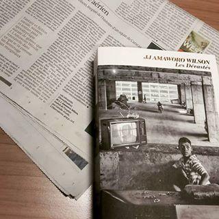 ARTICLE   Superbe chronique sur  Les Dvasts  de J.J Amaworo Wilson par Le Monde des livres...