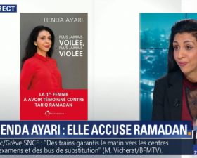 Henda Ayari sur BFMTV