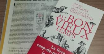 Marion Cocquet et Pierre Delhommais dans Le Point