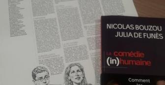 Julia de Funès et Nicolas Bouzou dans le Figaro